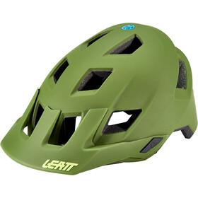 Leatt DBX 1.0 V21.1 MTN Casco, verde oliva